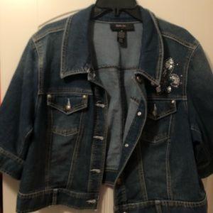 3/4 Sleeve Denim jacket